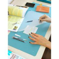 China Modern Book Cover Clear PVC Film For Desk Pad , Washable And Durable wholesale