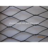 China Durable stainless steel wire rope net on sale