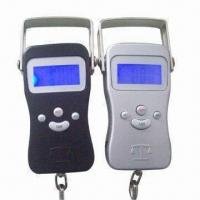 China Fishing Scale with Aluminum Outer, Temperature Display wholesale