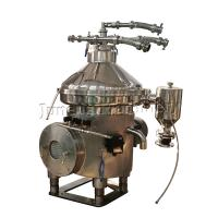 China China Supplier Three Phase Stainless Steel 304 Disc Oil Separator / Oil and Soap Separator wholesale