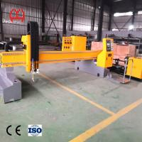 China High Accuracy Pvc Pipe Cutting Machine , Pipe Laser Cutting Machine Heavy Gantry Plate wholesale