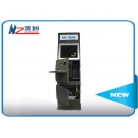 China Automatic free standing kiosk payment function with card reader wholesale