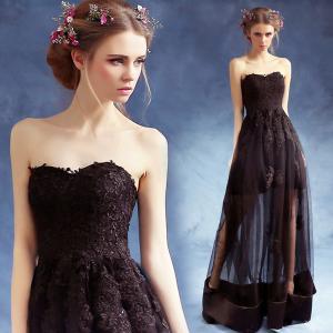 China Black Off The Shoulder Backless Elegant Evening Dresses TSJY060 wholesale