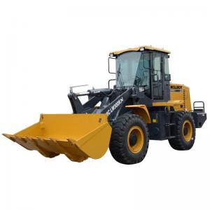 China 1.5m3 3 Ton Heavy Duty Wheel Loader With Snow Shovel on sale