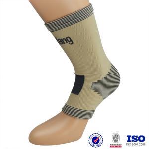 China Customized elastic knitting ankle brace ankle sleeve wholesale