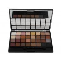 China OEM Private Label Long Lasting High Pigment 28 Color Matte And Shimmer Makeup Eyeshadow Palette wholesale
