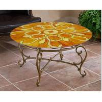 China art glass table top on sale