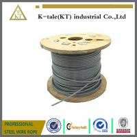 China 6*19S+FC Ungalv Steel Wire Rope for elevator / 7x19 high carbon steel wire rope for lefting on sale
