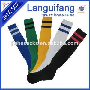 China Cheap knee high soccer socks,striped football socks,elite wholesale football socks on sale