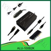 China AC & DC 100W Universal  Laptop Adapter for Home & Car use -ALU-100B2K wholesale