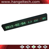 China P7.62 LED 2 Lines Scrolling Message Display Moving Sign Semi-outdoor Window Use on sale