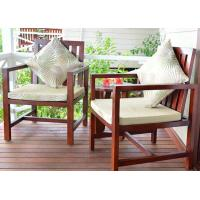 China Customized Garden / Balcony Wooden Lounge Chair Solid Wood Outdoor Furniture wholesale
