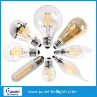 China Ac120 E26 Led Filament Bulb Dimmable 8w , High Power Filament Bulb Lamp wholesale