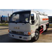 China JAC 4x2 5000 Liters Mobile Oil Dispenser Truck Fuel Refueling Truck For 2 People wholesale