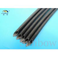 China 2500V Colorful Fiberglass high temperature sleeve Coated Silicone Resin For Motors wholesale