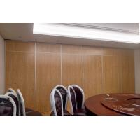 China Sound Insulation Hotel Sliding Partition Walls Floor To Ceiling Aluminium System wholesale