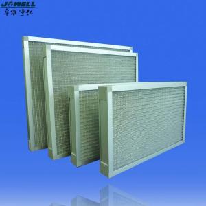 China Pre Panel Metal Mesh Air Filters Galvanized Sheet wholesale