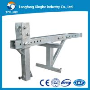 China 380v Suspended working platform / construction gondola platform / lifting cradle winch wholesale