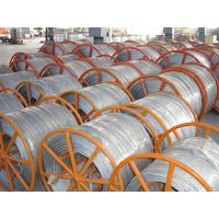 China Anti Twisted Pilot Rope Galvanised Steel Wire Rope For Transmission Line on sale