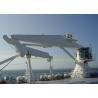 China Hydraulic 6T Marine Deck Crane Folding Knuckle Boom Crane And Advanced Components wholesale