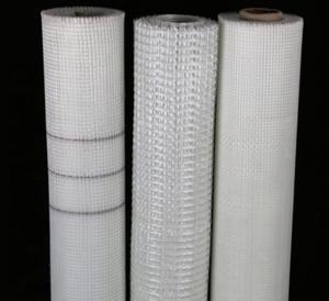 China 145g 5*5mm Alkali Resistant Self-Adhensive Mosaic Title Fiberglass Mesh wholesale