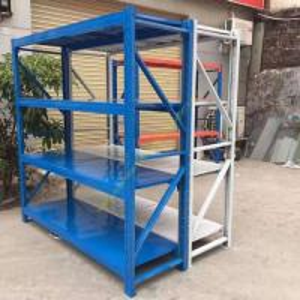 China Banner Boltless Warehouse Storage Racks / Movable Tier Steel Metal Shelving Racks wholesale