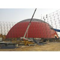 China Steel Lattice Shell Steel Space Frame Structures Prefab Storage Buildings Anti Seismic wholesale