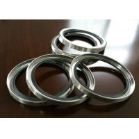 China PTFE / PTFE SS Shaft Oil Seal With Single Or Double Lips For Air Compressor on sale