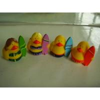 OEM Mini Yellow Personalised Rubber Bath Ducks For Baby Shower Favors