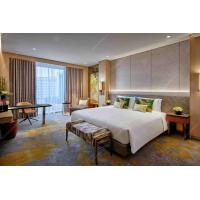 China Commercial Luxury Hotel King Size Bedroom Furniture Set , Custom Made 4-5 Star Hotel wholesale