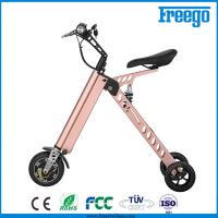 China P Moped Three Wheel Electric Scooter With Seat 500W Hub Motor withkey wholesale