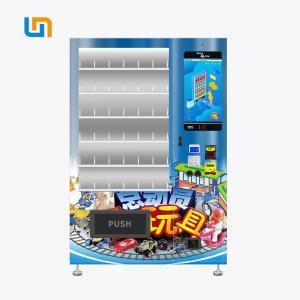 China Anti - Theft Toy Car Transformers Vending Machine With Elegant Aluminium Door on sale