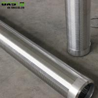 China Stainless Steel Water Well Screen Pipe Johnson Type For Liquid Filter on sale