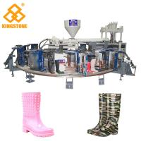 China 1/2 color Fully Automatic PVC Farmer boots Injection Moulding machine boot making machine wholesale