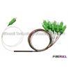 China Mini divisor de aço do PLC do divisor 1x8 do PLC da fibra ótica do tubo para FTTH/PON wholesale