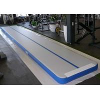 China Customized Air Track Gymnastics Mat , Inflatable Air Tumble Track With Repair Kit on sale