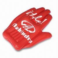 China 41 x 80cm Inflatable Hand, Made of PVC, Suitable for Promotional Purposes wholesale