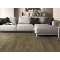 China Coffee Grey Porcelain Wood Effect Tiles Good Abrasion Resistance Easy Clean on sale