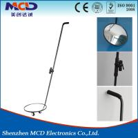 China Diameter 30cm Car Under Vehicle Inspection Mirrors With Torch For Security Checking wholesale