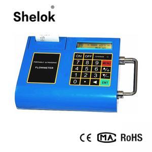 China Portable ultrasonic flow meter ultrasonic flowmeter water on sale
