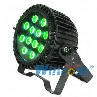 Buy cheap Stable quality Outdoor IP65 12*15W led 5in1 RGBWA Mini Flat Par Light Powercon from wholesalers