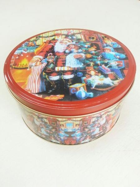 Empty Christmas Cookie Tins Images