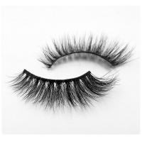 China Thick Permanent Mink Eyelash Extensions 3D 100 Mink Fur Eyelashes Naturally Tapered wholesale