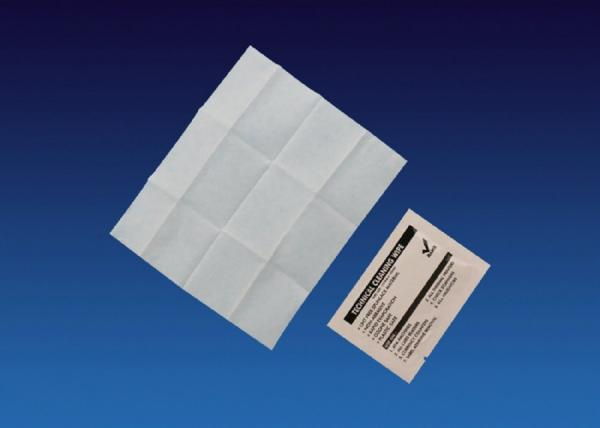 Quality 99.9% IPA Isopropyl Alcohol Swab Wipe Cleaning Pads Kit Spunlace Material for sale