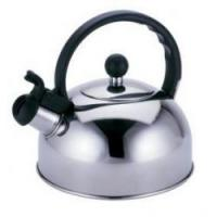 China Silver Color Stainless Steel Tea Kettle / 3.0L To 7L Whistling Teapots Kettles on sale