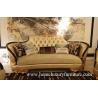 China 生地のシート・クッションの居間のソファーが付いている革ソファーはコーヒー テーブルの贅沢の家具を置きます wholesale