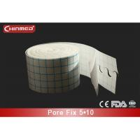China Clear Medical Tape Non Woven Fabric Adhesive Surgical Tape , S Cut wholesale