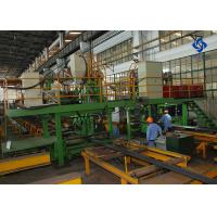 China High Frequency Membrane Panel Tube Finning Machine / Production Line wholesale