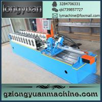 China shutter door roll forming machine,used z purlin roll forming machine wholesale