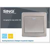China 2015 new design electrical switch,wall switch  1 gang 2 way electric wall switch on sale